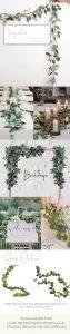 eucalyptus wedding garlands for sale