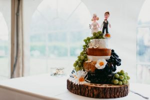 Tree slice rustic wedding centrepieces from The Wedding of my Dreams4