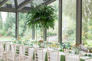 Brass and green wedding table centrepieces The Wedding of my Dreams