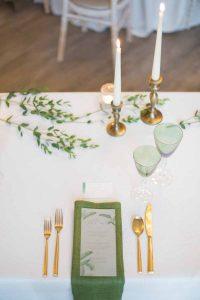 Candlesticks wedding styling ideas