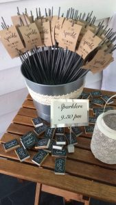 sparklers affordable wedding favours guests will love